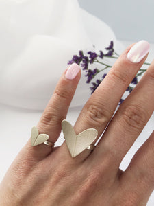 ROMANCE brushed ring - Small