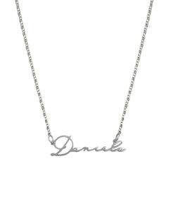 Mina's - horizontal name necklace
