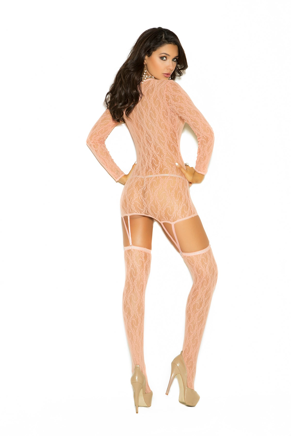 LONG SLEEVE CAMISETTE W/ HOSE