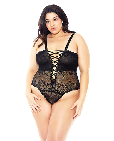 Reversible Lace Teddy PS