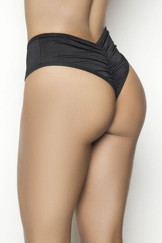 High Waist Ruched Back Panty
