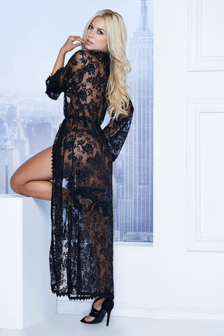 Long Lace Robe