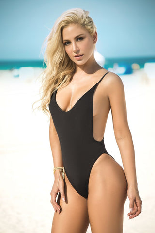 Bare Back Swimsuit