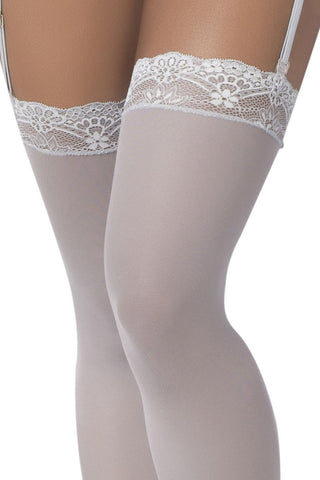 Mesh Thigh High Stockings