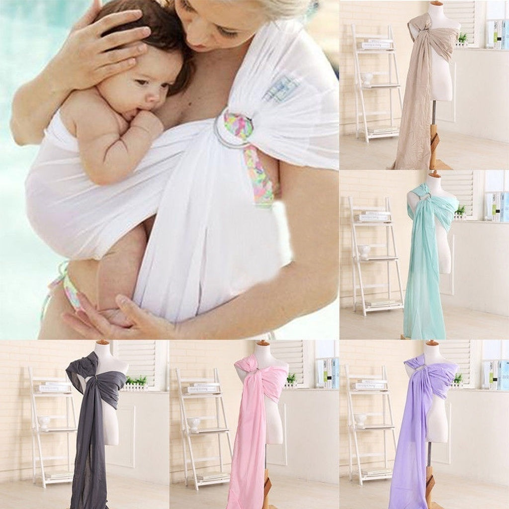 Ergonomic Adjustable Infant Newborn Baby Carrier Sling Wrap