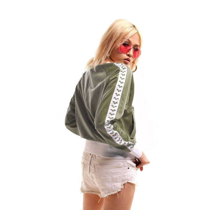 Dames Relax Iv Team Jacket army-white-army