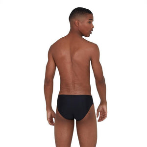 Speedo Tech Panel Brief Zwart/Blauw
