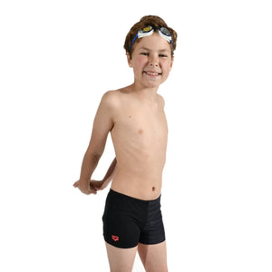 Arena Stretch Junior Short - Zwart/Multi
