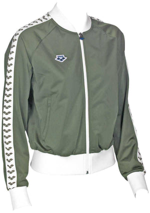 Dames Relax Iv Team Jacket army-white-army | Zwemmershop