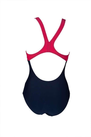 W Brilliance Swim Pro Back One Piece B Navy | Zwemmershop