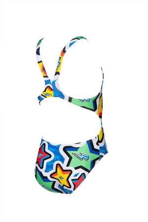 Arena G Frolic Jr Tech Back One Piece L royal-multi