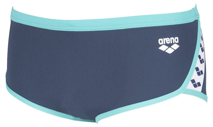 Arena M Team Stripe Low Waist Short shark-mint