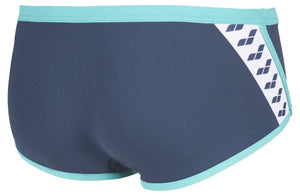 Arena M Team Stripe Low Waist Short shark-mint (5373800317091)