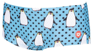 Crazy Penguins Low Waist Short - Zwart/Multi