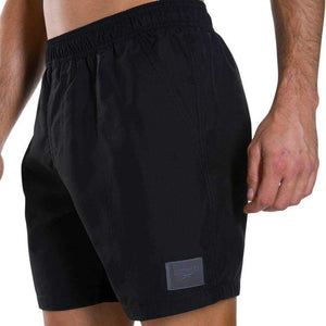 "M Short Check Trim Leisure 16"" Zwart 