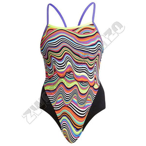 Funkita Ladies Single Strap Dripping zwemmenenzo.nl