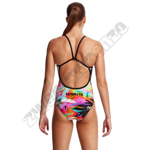 Funkita Ladies Single Strap Hail Caesar zwemmenenzo.nl