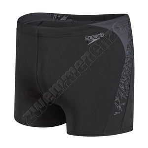 Speedo Boom Splice Aquashort black/grey zwemmenenzo.nl