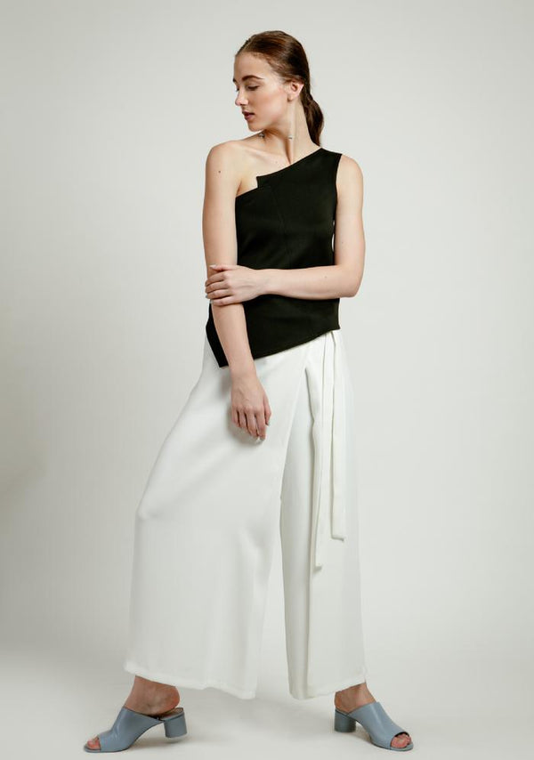 Asymmetrical One Shoulder Top