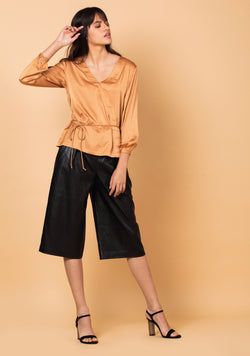 Falso Wrap Top