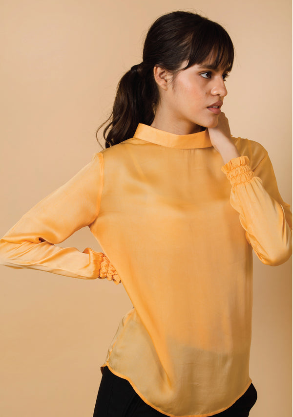 Relaxed Sailor Neck Top
