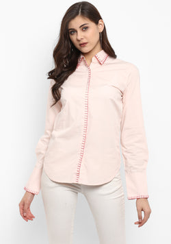Thread Detail Cotton Shirt