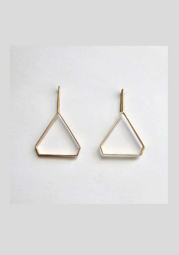 ODC / 3D Triangular Earrings