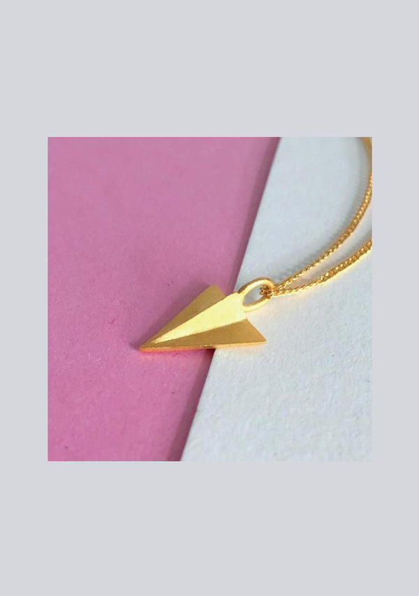 ODC / Aeroplane Origami Necklace