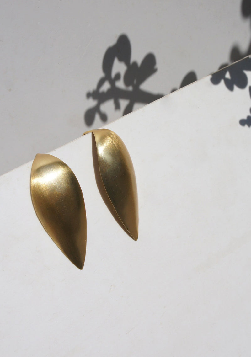 ODC / Leaf Drop Earrings
