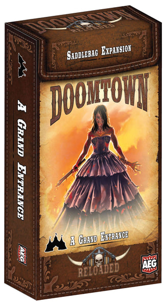 Doomtown: A Grand Entrance Saddlebag
