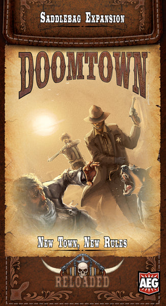 Doomtown: New Town, New Rules Saddle Bag