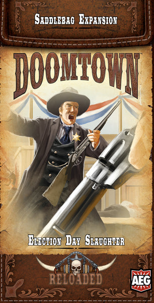 Doomtown: Election Day Slaughter Saddlebag
