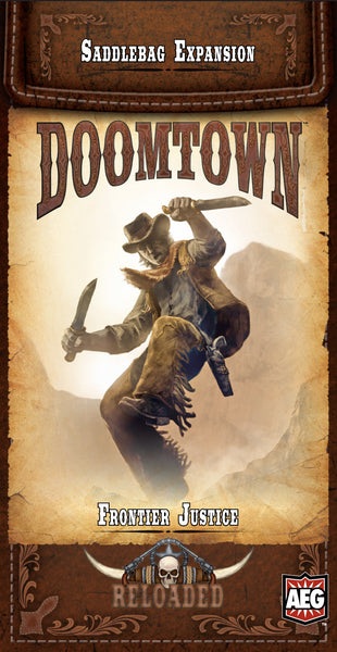 Doomtown: Frontier Justice Saddlebag