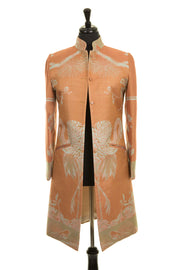 Nehru Coat in Apricot Moon - Sale