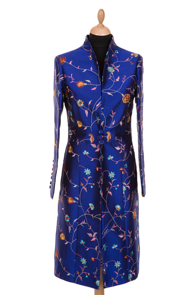 Avani Coat in African Cobalt