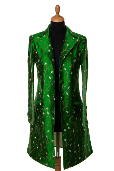 Grace Coat in Electric Grass