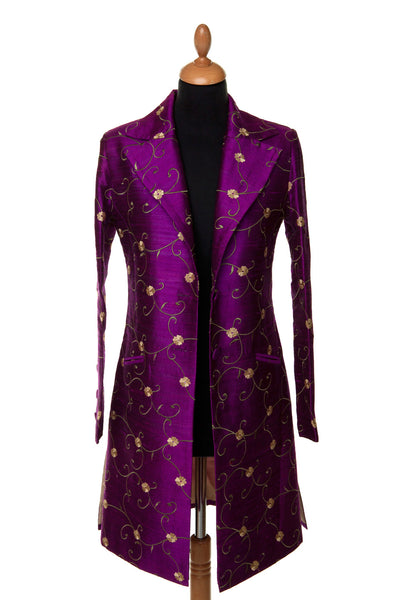 Grace Coat in African Violet