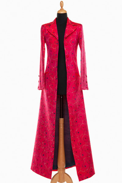 Aquila Coat in Hot Cerise