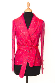 Layla Jacket in Hot Cerise