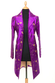 Shibumi Coat in African Violet