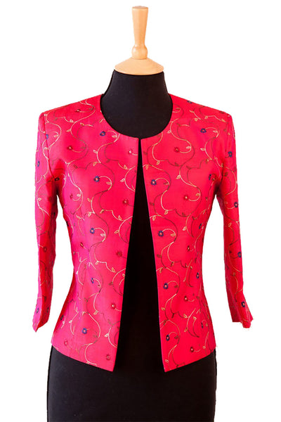 Juna Jacket in Hot Cerise
