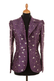 Lotus Jacket in Mulberry
