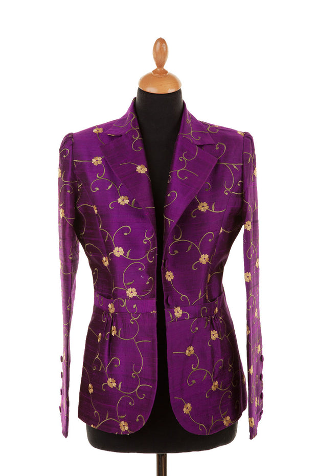 Lotus Jacket in African Violet