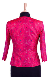 Juna Jacket in Hot Cerise - Sale