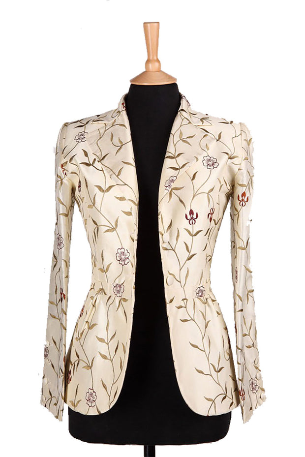 Lotus Jacket in Ivory