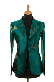 Lotus Jacket in Amazon Jade