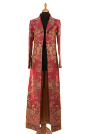 Aquila Coat in Moss Rose - Sale