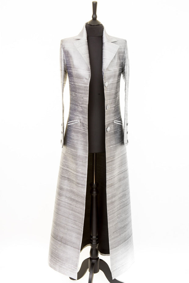 Aquila Coat in Silver - Sale