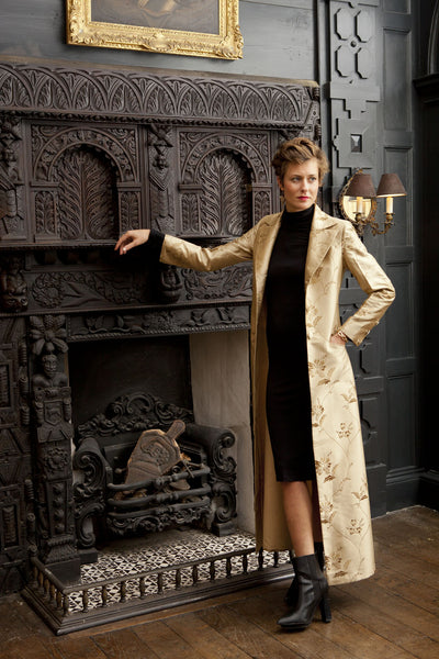 Aquila Coat in Honey Gold
