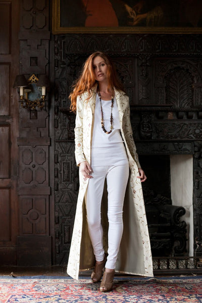 Aquila Coat in Ivory